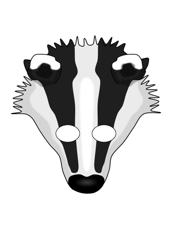 Как сделать маску тигра фото 856