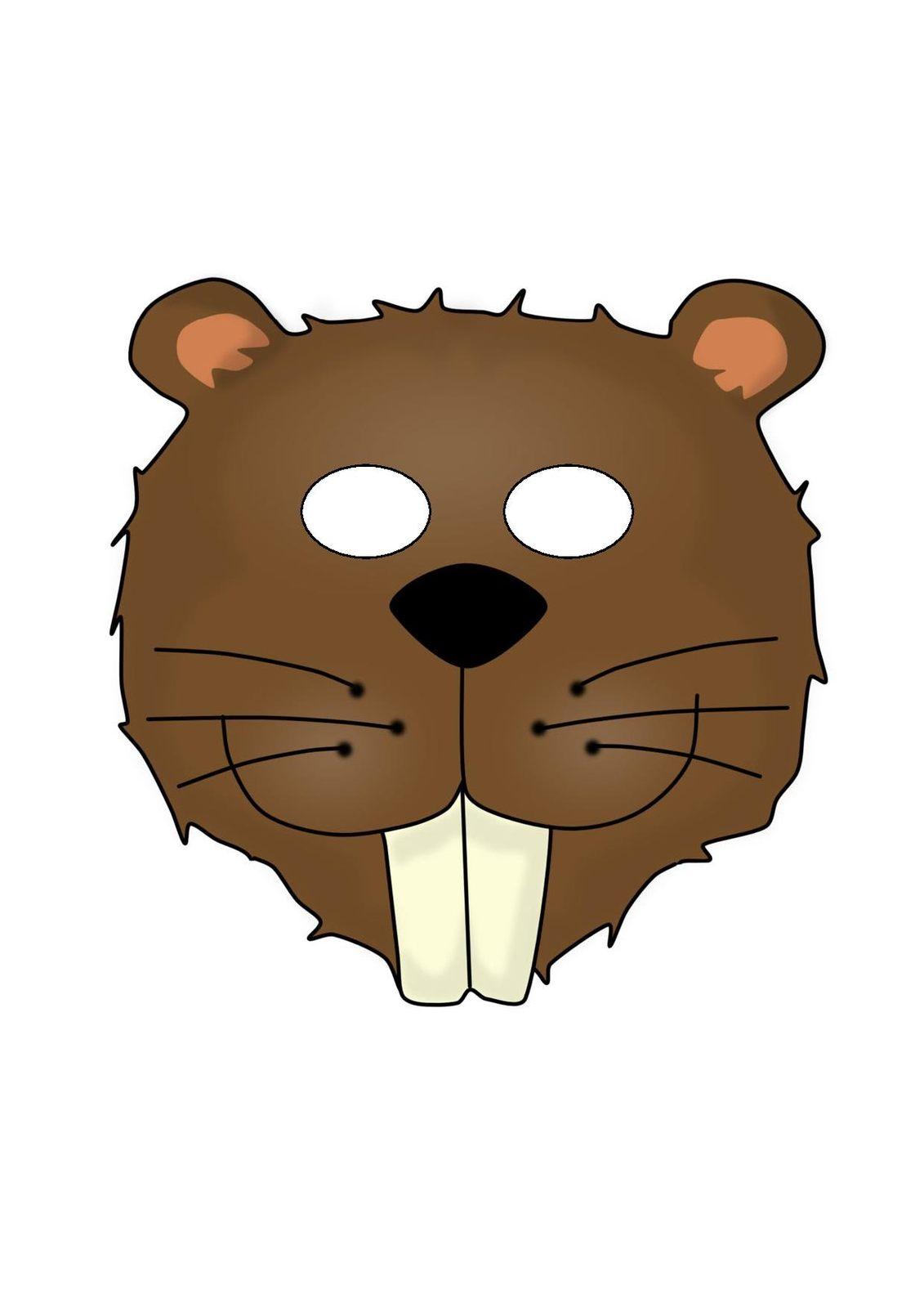 Маска Медведя на голову из бумаги - распечатай шаблон бесплатно! новые фото