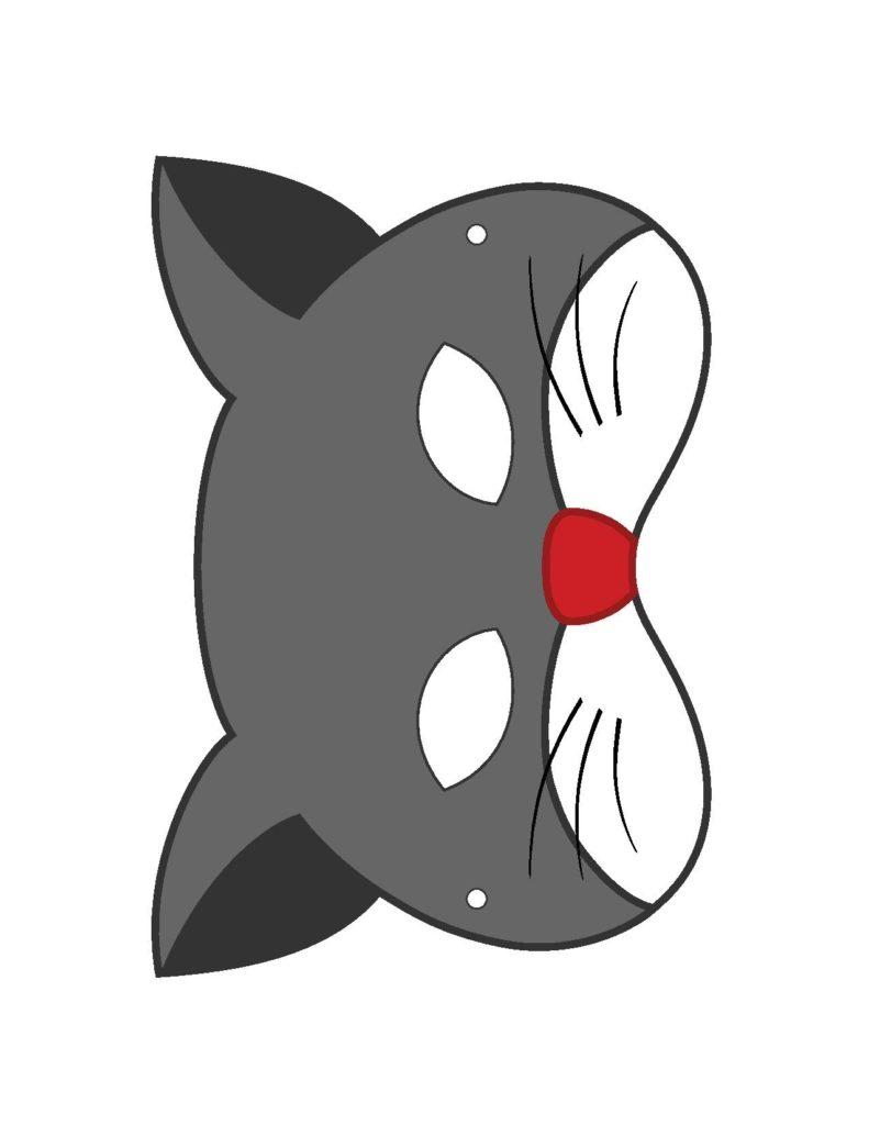 Маска Кошки на голову для ребенка