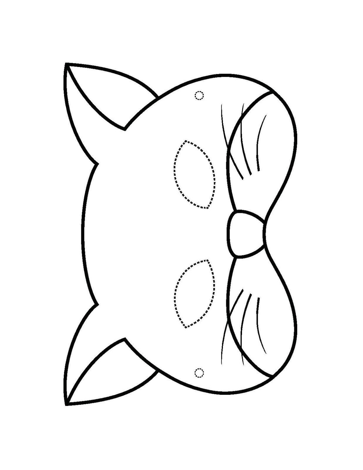Смотреть Маска Медведя на голову из бумаги - распечатай шаблон бесплатно! видео