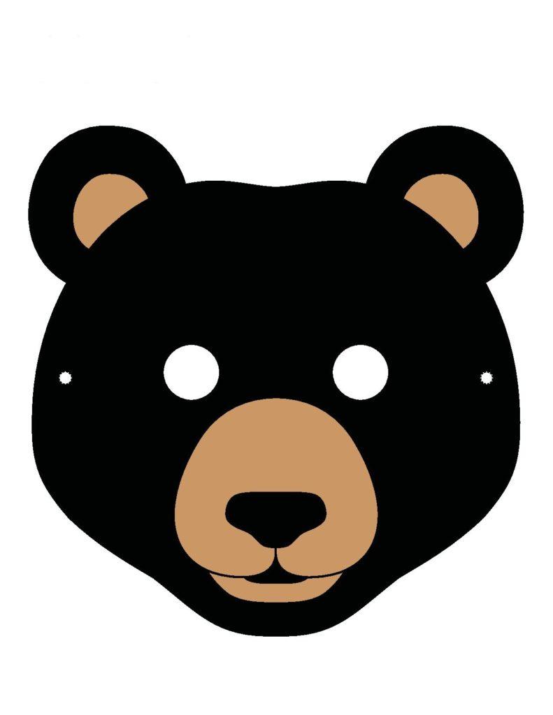 Черный медведик