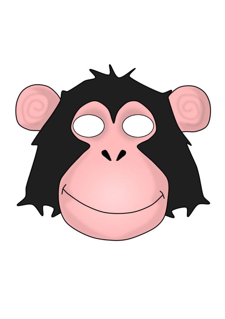 Симпатичная шимпанзе
