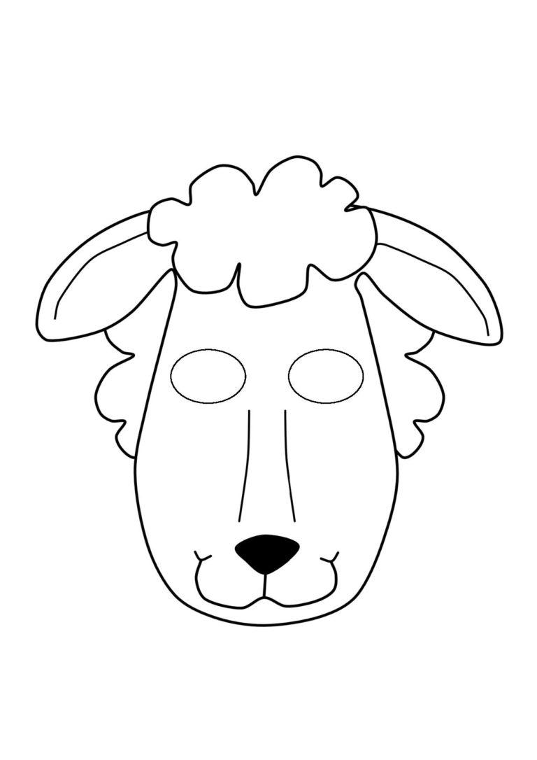 Donkey mask template - animalcarecollege.info