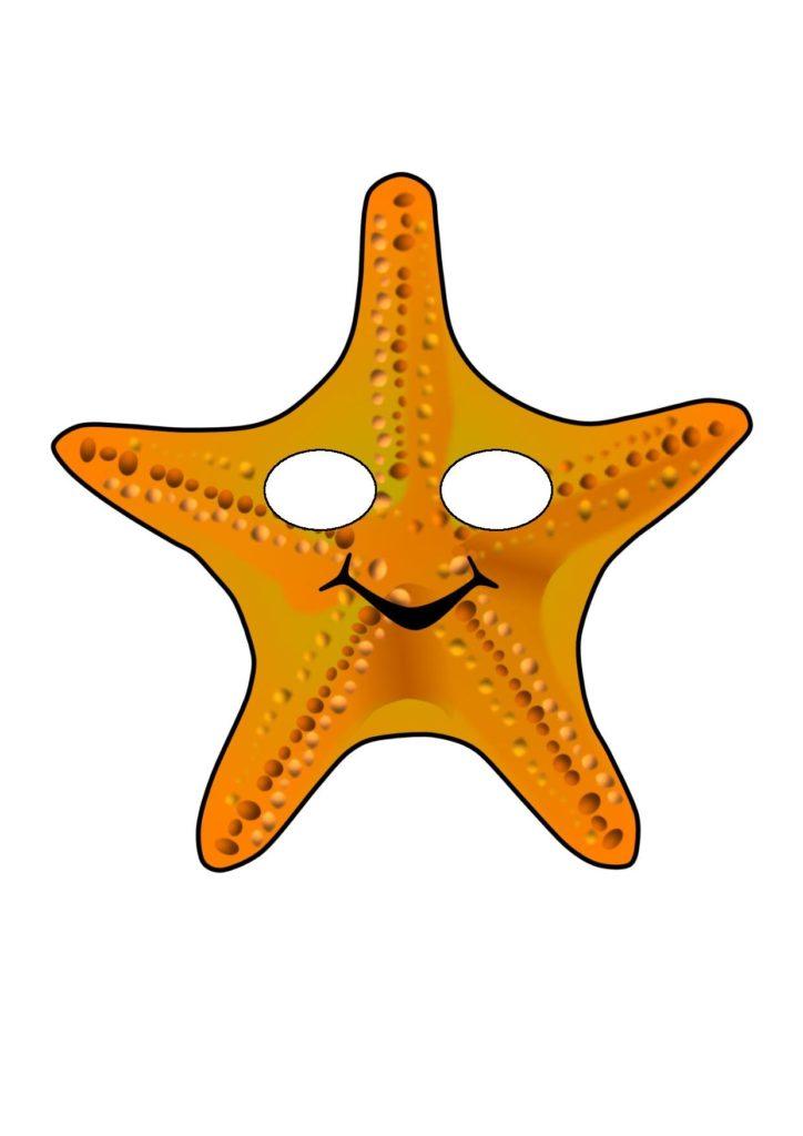 Маска Морской звезды