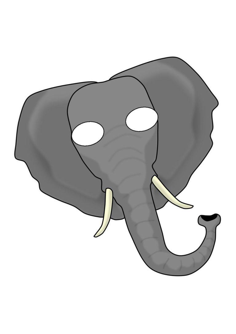 Elephant mask template - crazywidow.info
