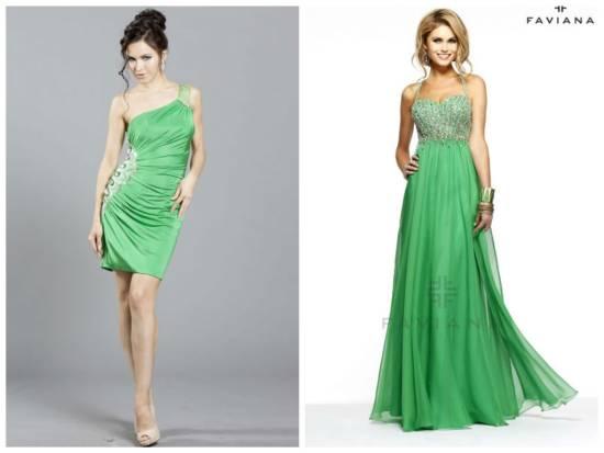 зелененькие модельки