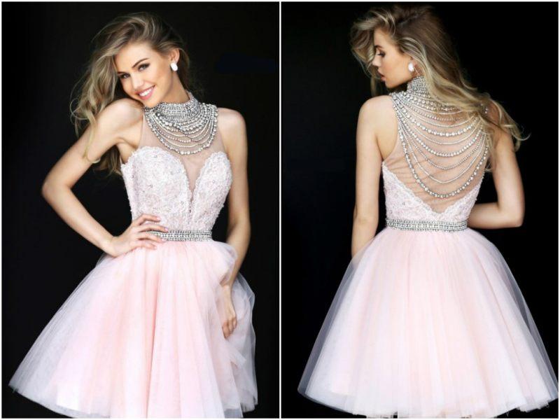 Платье с юбкой-пачкой