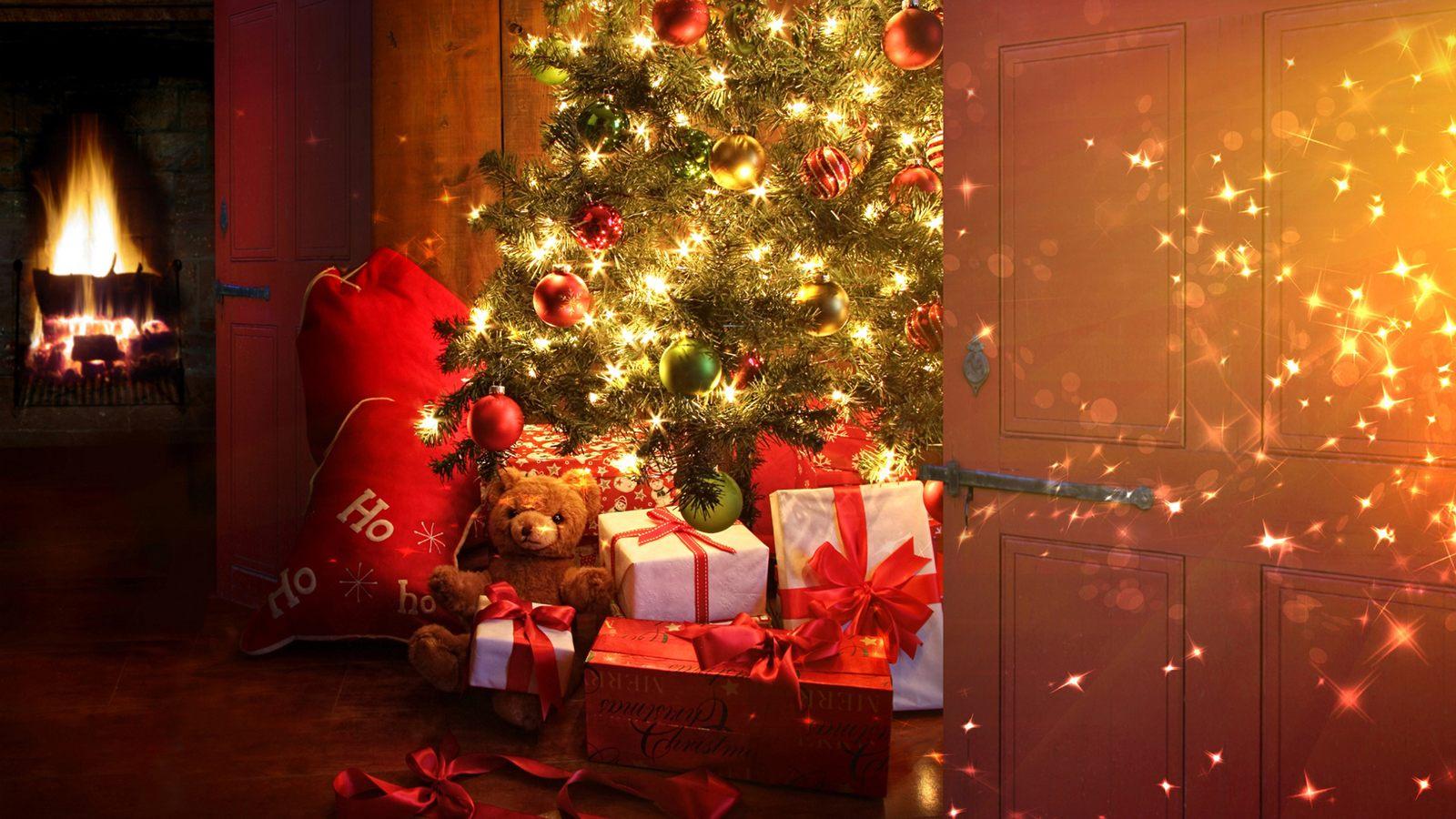 Подарки елка картинки
