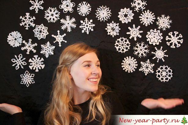 радость от снежинок