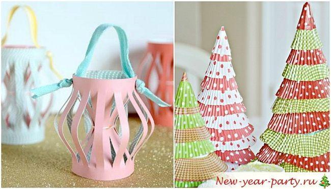 Идеи для новогодних поделок