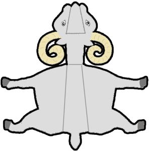 Поделки символа года к новому году 2015