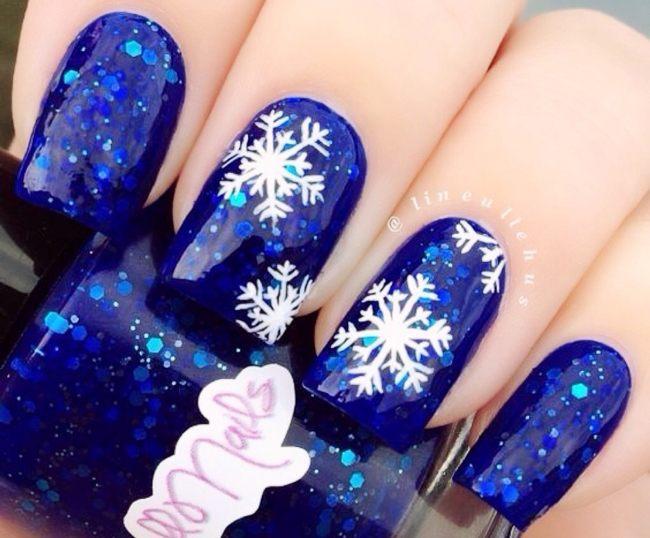 Новогодний дизайн 2018 зима