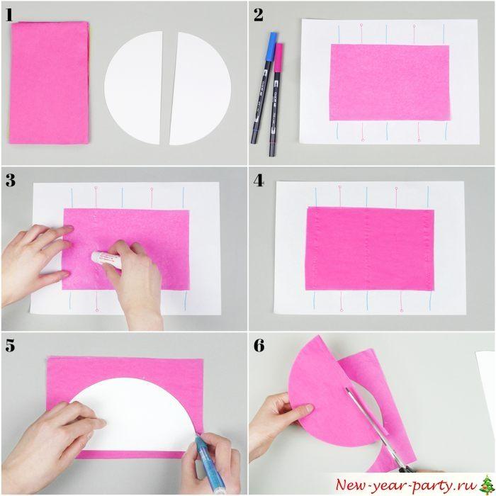 Пошаговая инструкция по изготовлению новогоднего шара