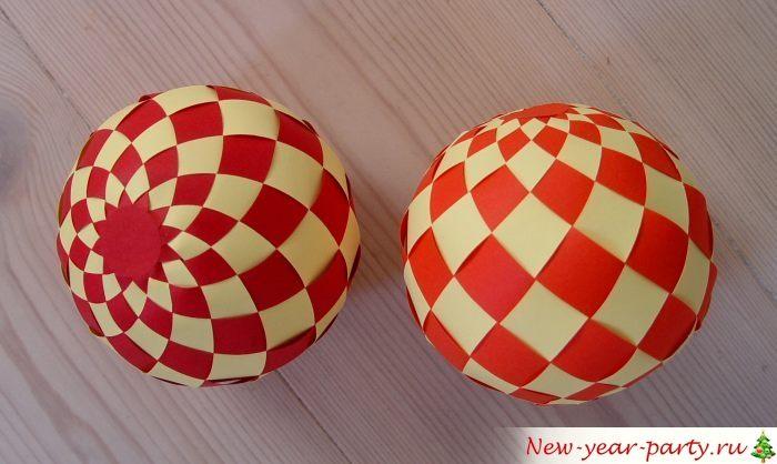 Украшение с узором в шахматном стиле