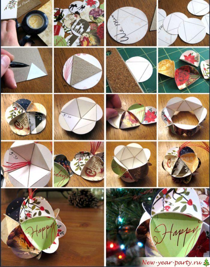 Альтернативный способ создания декора для дома