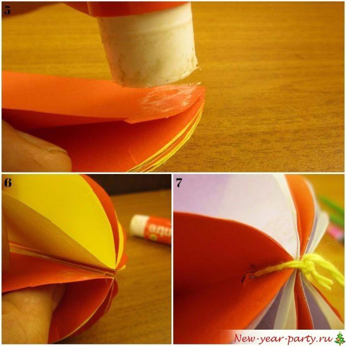 Склеивание и сшивание составных частей