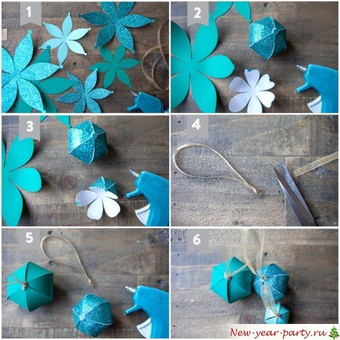 Шарики из цветочков