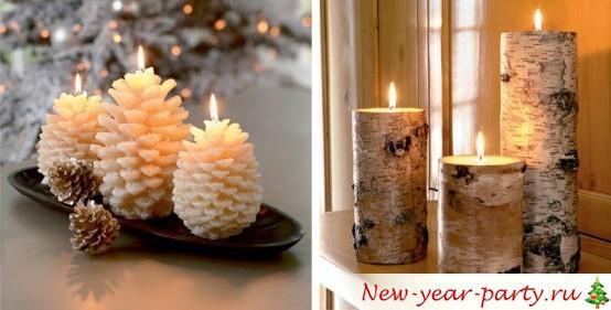 Новогодние свечи 2019