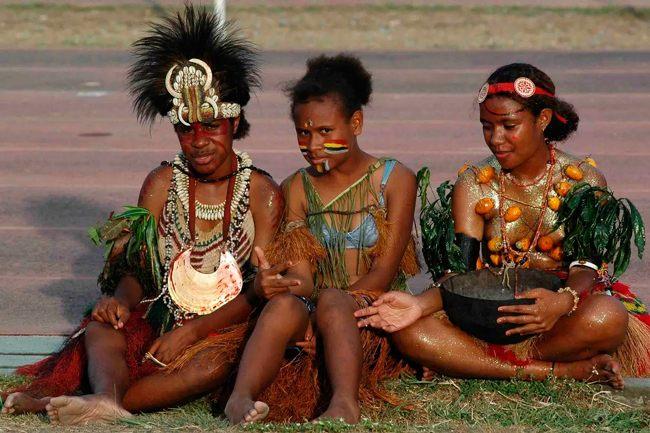 Жители Микронезии