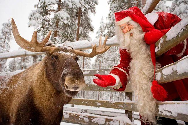 Традиция страны рассказывать о Санта Клаусе