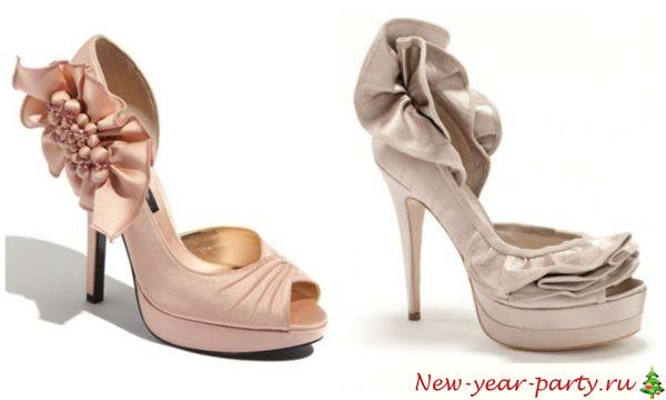 Красивые туфли на Новый год 2018