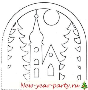 Новогодние поделки на окна своими руками 2016