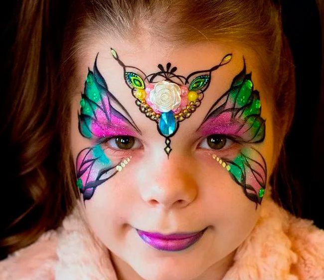 Маска бабочка