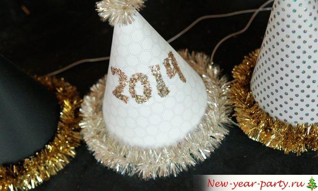 Красивый новогодний колпак своими руками
