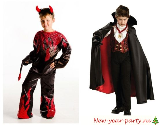 детский костюм вампира дракула