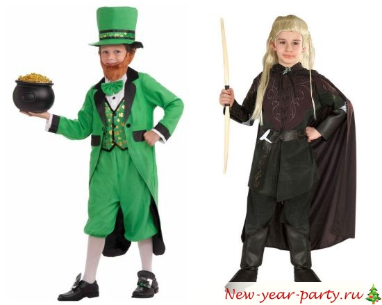 Новогодние костюмы для мальчиков 2018
