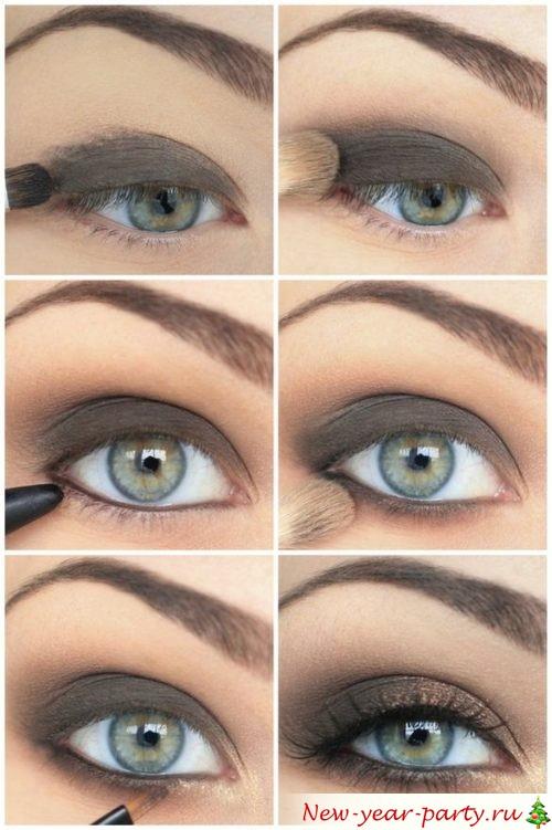 мастер-класс для зеленых глаз