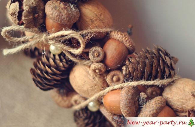 Шишки и орешки
