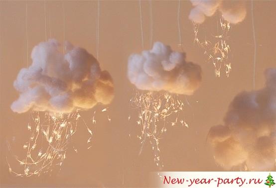 Облака из ваты
