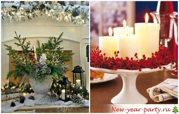 Как сделать новогодние украшения своими руками из