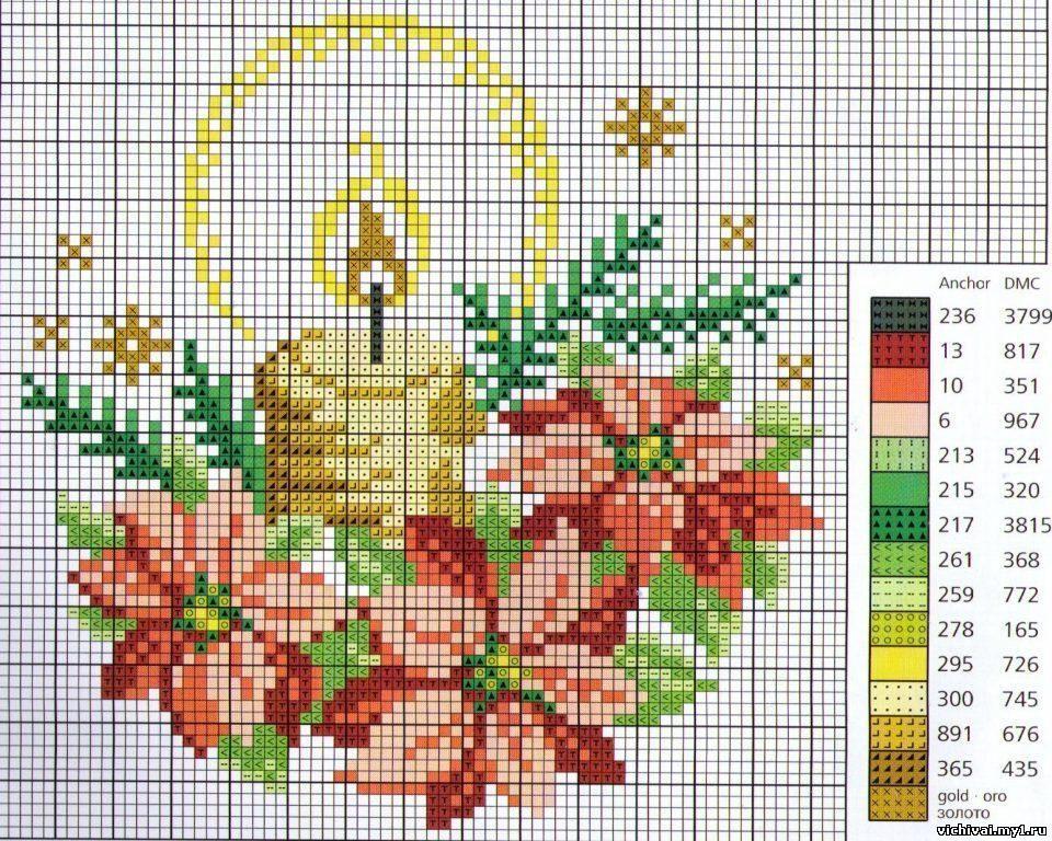 Новые схемы вышивки крестомбесплатные схемы