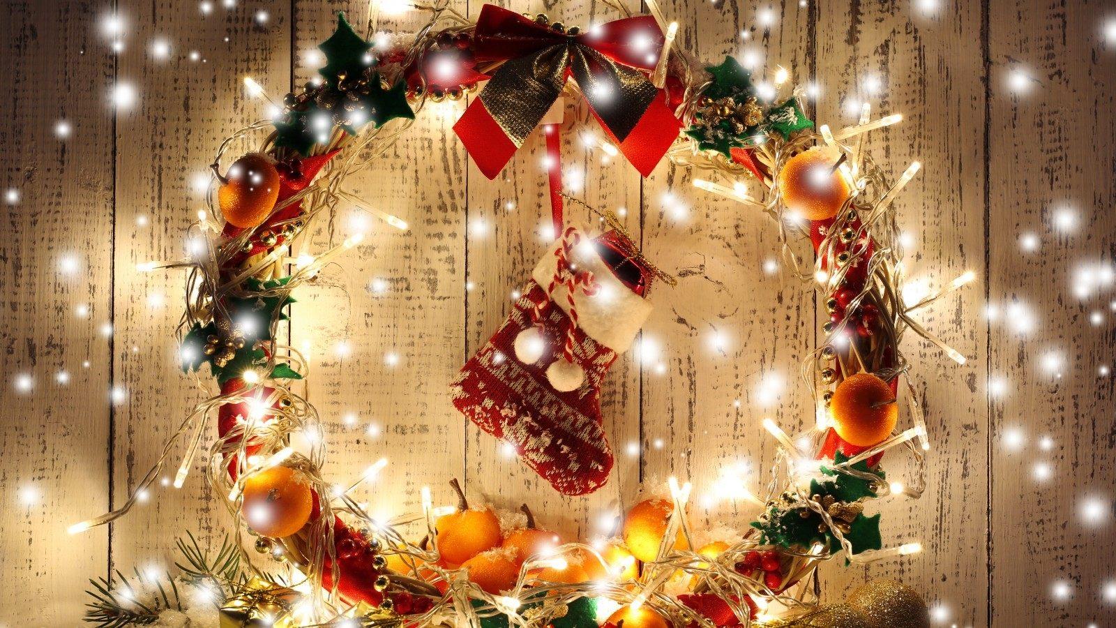 Картинки На Рабочий Стол Новогодние Елки Романтика