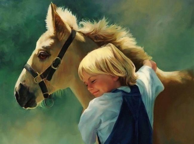 Маска коня, овечки