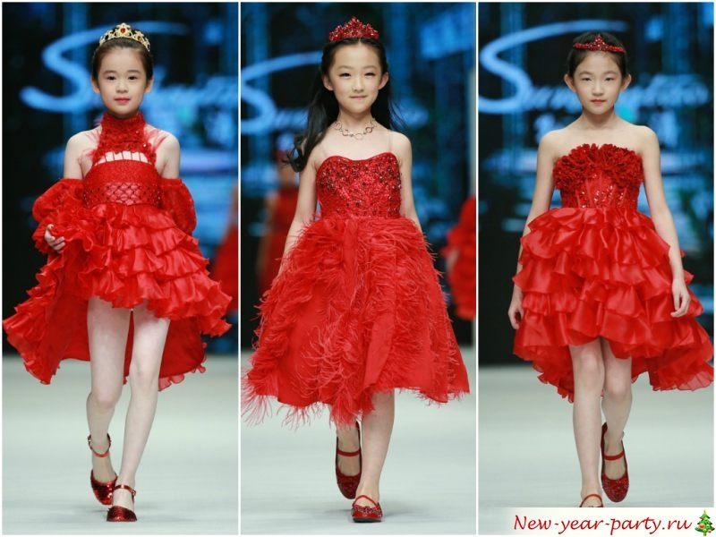 Модели на модном показе
