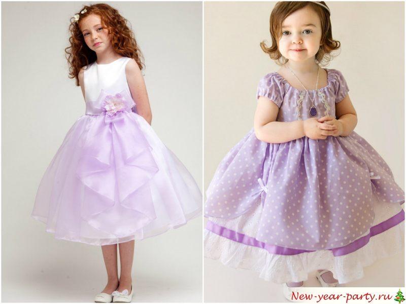 Дочке новогоднее платье