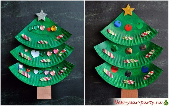 Оригинальные елки