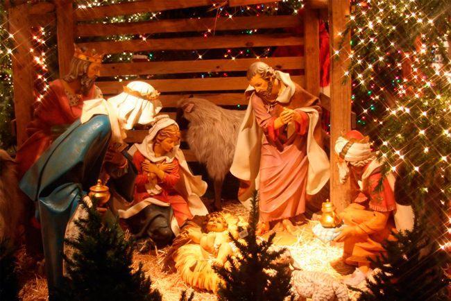 Рождественские поздравления в стихах на 2018 год