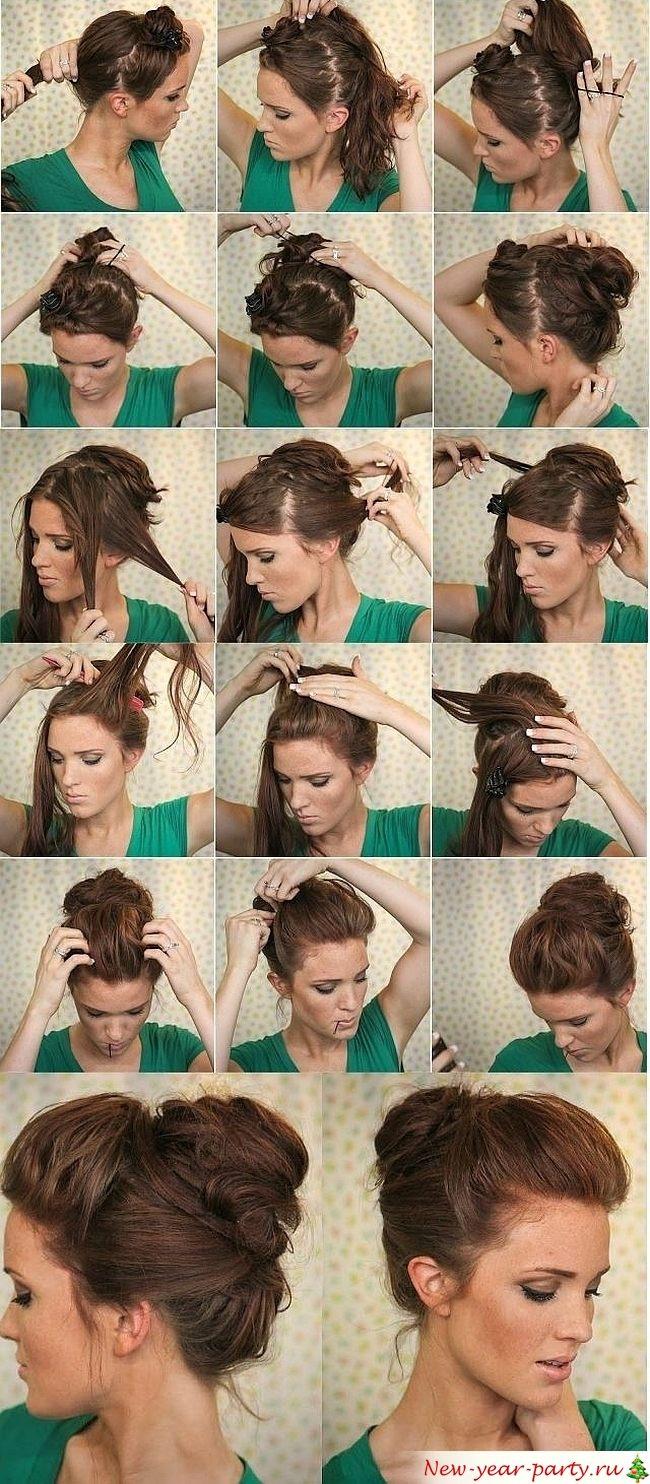 как красиво подобрать волосы