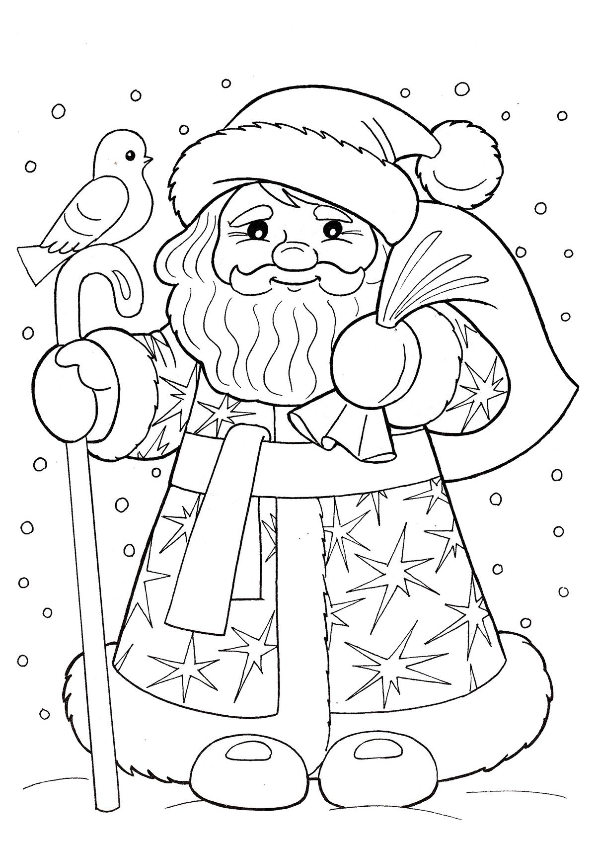 Рисунок ёлки с подарками карандашом