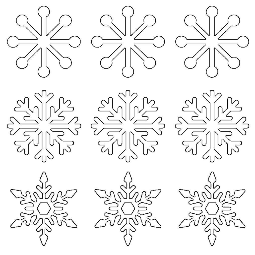 Paper Snowflake Patterns Printable Templates Amp Coloring Satukisfo