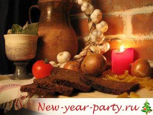Питание в Рожедествеснкий пост, календарь