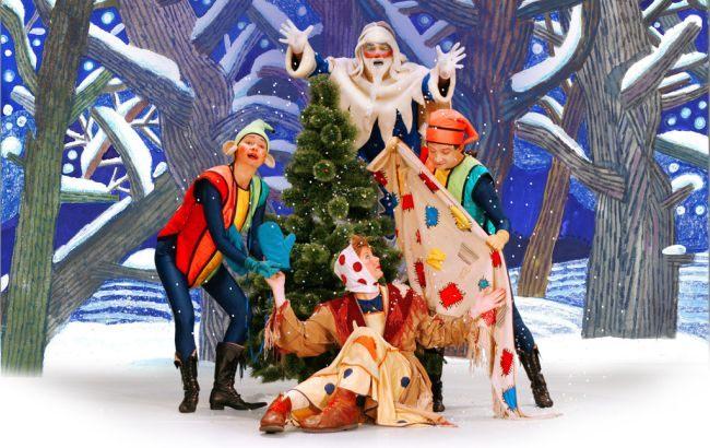Новогодний сценарий утренника для средней группы детского сада