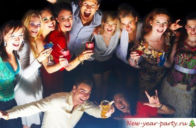 Веселый новогодний корпоратив 2017