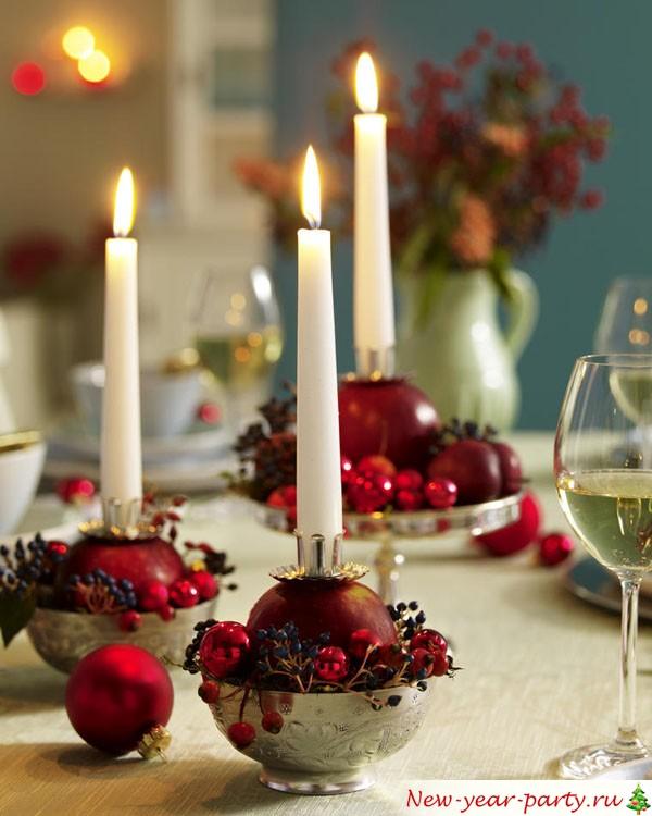 Сервировка Новогоднего стола, фото