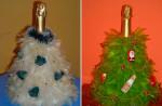 Украшение новогоднего шампанского своими руками фото