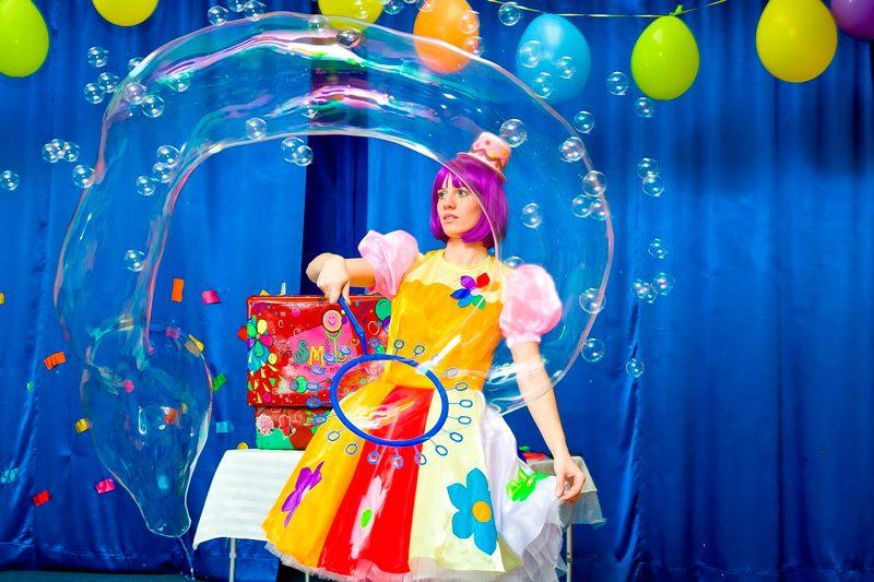 Парад мыльных пузырей